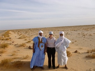 Wueste zwischen Nouakchott und Nouadhibou