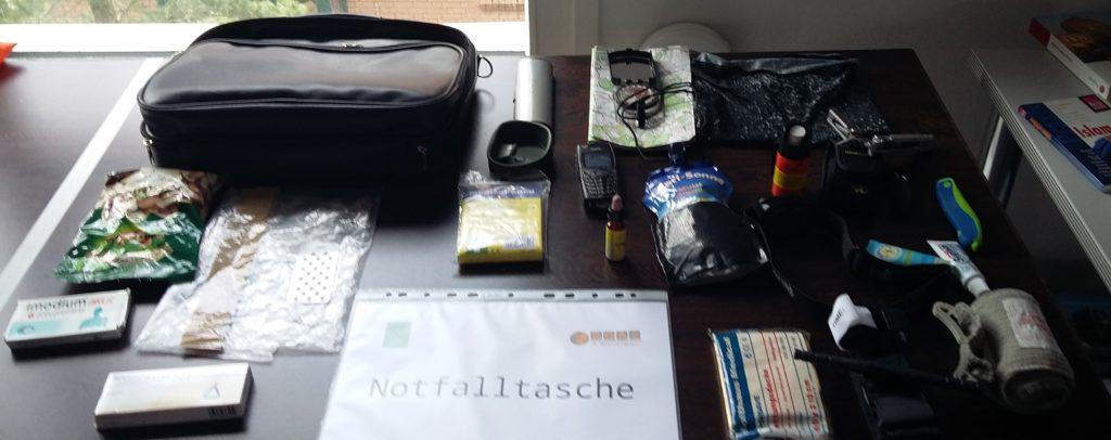 Inhalt Notfalltasche