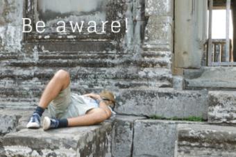 Be aware – mein Sicherheitstipp Nummer eins